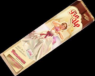 Темный шоколад с помадно-сливочной начинкой