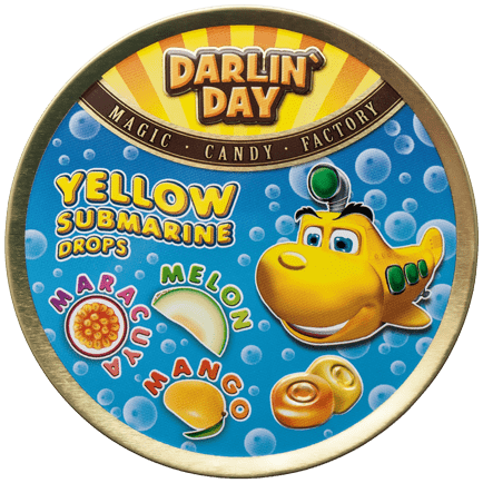 КАРАМЕЛЬ ЛЕДЕНЦОВАЯ «DARLIN`DAY»® YELLOW SUBMARINE