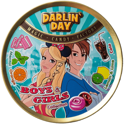 КАРАМЕЛЬ ЛЕДЕНЦОВАЯ «DARLIN`DAY»® BOYS & GIRLS COLLECTION