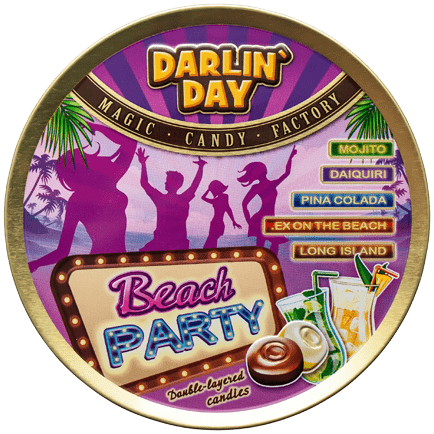 КАРАМЕЛЬ ЛЕДЕНЦОВАЯ «DARLIN`DAY»® BEACH PARTY