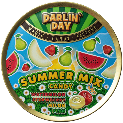 КАРАМЕЛЬ ЛЕДЕНЦОВАЯ «DARLIN`DAY»® SUMMER MIX