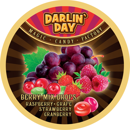КАРАМЕЛЬ ЛЕДЕНЦОВАЯ «DARLIN'DAY» BERRY MIX